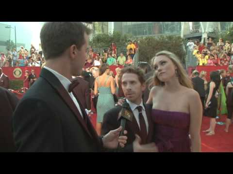 Primetime Emmy 61 Red Carpet   Seth Green