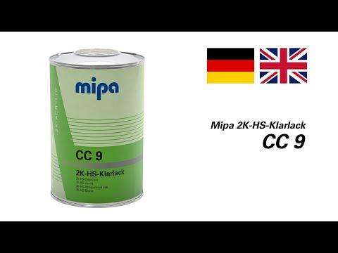 Mipa 2K-HS-Klarlack CC 9