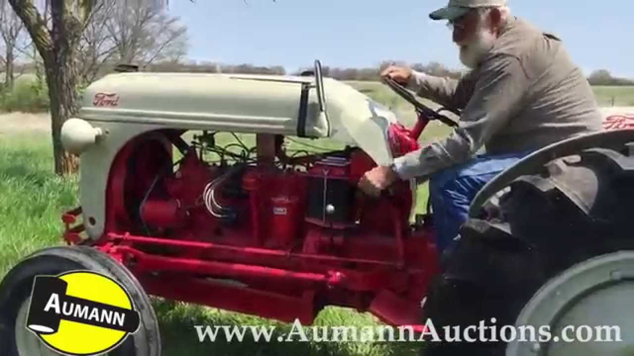 Ford Model 8n With Funk Conversion Aumann Auctions Youtube