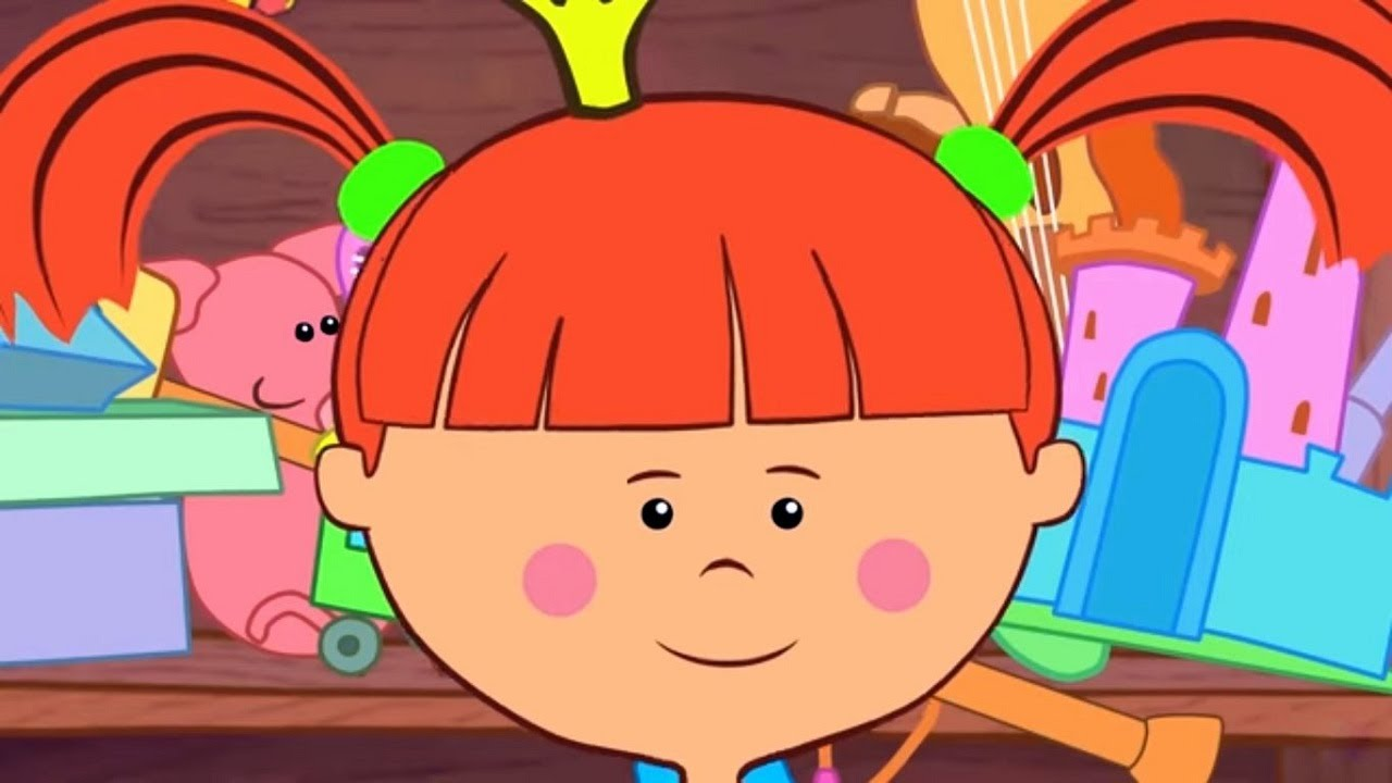 Детские песенки - Жила была Царевна  - песенка Про уборку - Веселые развивающие мультики для детей