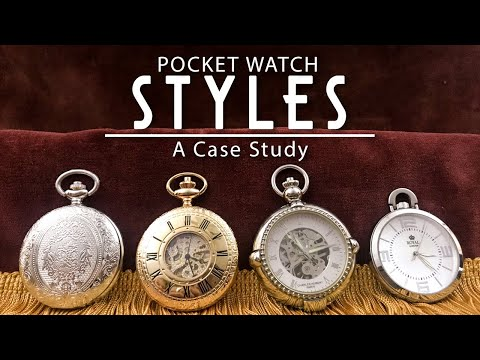 My1928 - Pocket Watch Case Styles And How To Wear Them