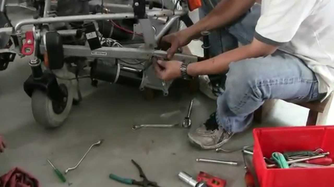Repair Your Wheelchair In Bangkok Thailand Youtube