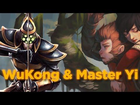 WuKongun Hikayesi | Master Yi & WuKongun Tanışması