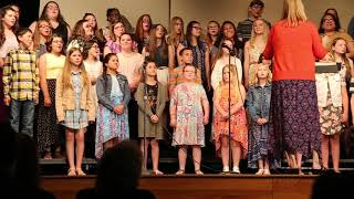 """Sienna with the Breckenridge Singers. """"Trolls Song"""""""