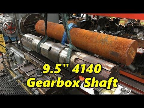 """9.5"""" Inch 4140 Gearbox Shaft Part 1"""