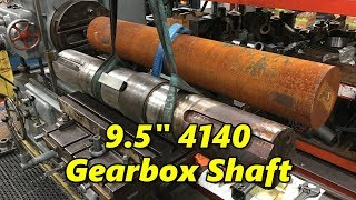 "9.5"" Inch 4140 Gearbox Shaft Part 1"