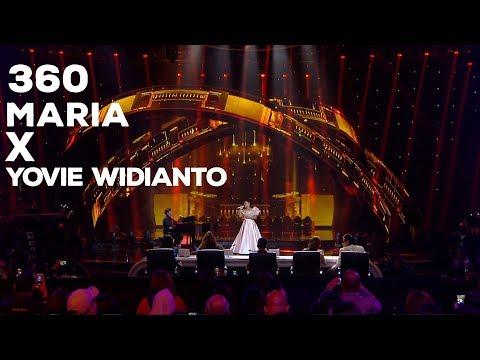 "Maria feat Yovie Widianto - Bukan Untukku MASHUP Mantan Terindah"" 360 INDONESIAN IDOL EXPERIENCE"
