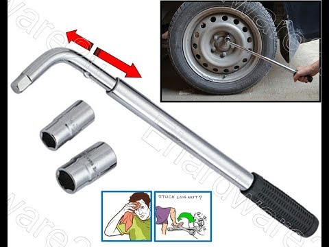 Telescoping Energy Saving Power Wheel Nut Wrench Set (RT-J15)