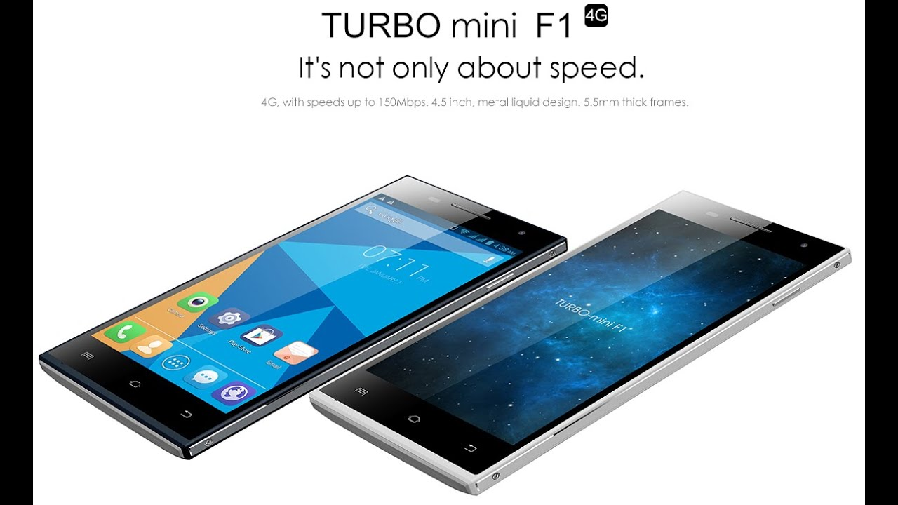 Doogee Turbo Mini F1 test video par GLG (French With ...
