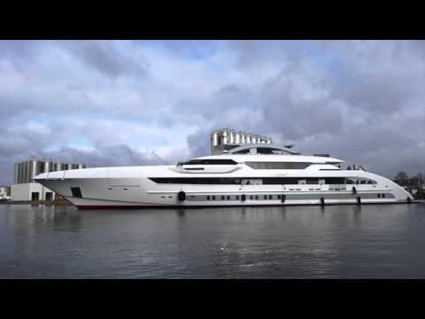 Как выглядит яхта Алекперова, признанная лучшей в мире