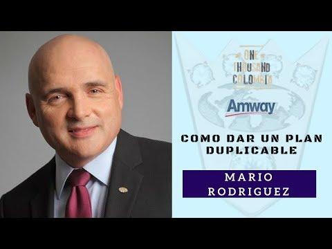 📚Cómo Dar Un Plan Duplicable 👑 Mario Rodríguez 🏆 Amway 💎