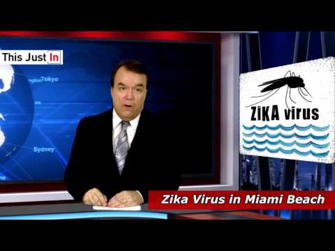 Zika Virus in Miami Beach Report - Zika in Miami Beach - Miami Dade Florida  in the News