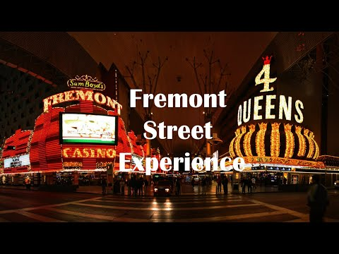 Viva Vision light shows at Fremont Street Experience