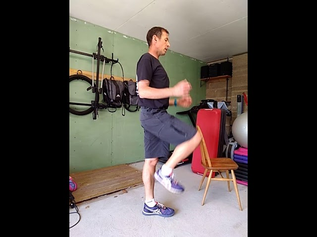 30 min Knee, hip and balance exercise video