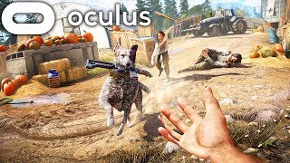 FAR CRY 5 In VIRTUAL REALITY! | Far Cry 5 Oculus Rift Gameplay |