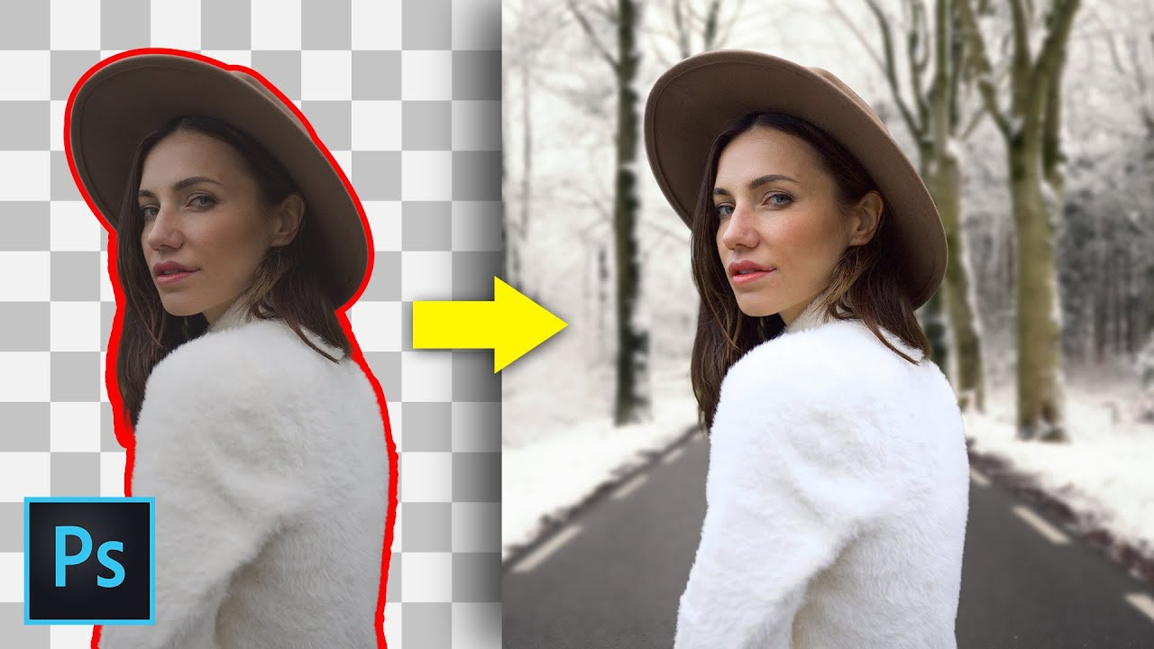 Match Color with Background in Photoshop | Color Matching in Photoshop (Easy)