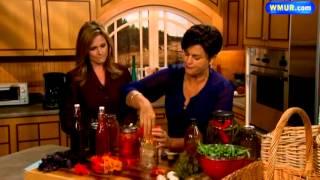Herb And Flower-infused Vinegar