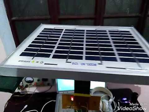 Solar powered Reciprocating pump