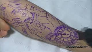 Proses tatto 3d