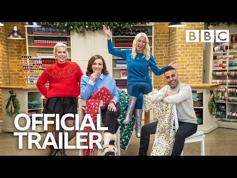 The Great British Sewing Bee: Celebrity Christmas Special Trailer | BBC Trailers