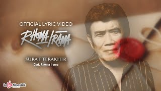 Download Rhoma Irama - Surat Terakhir (Official Lyric Video)