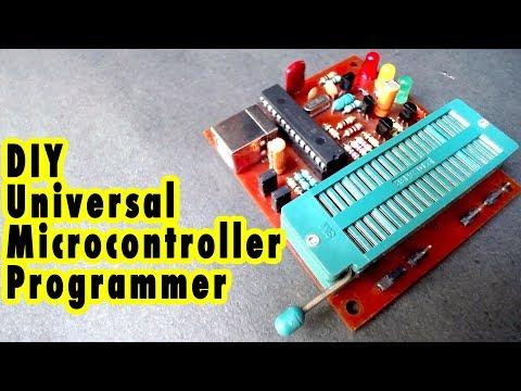 Homemade Universal USB PIC Microcontroller Programmer