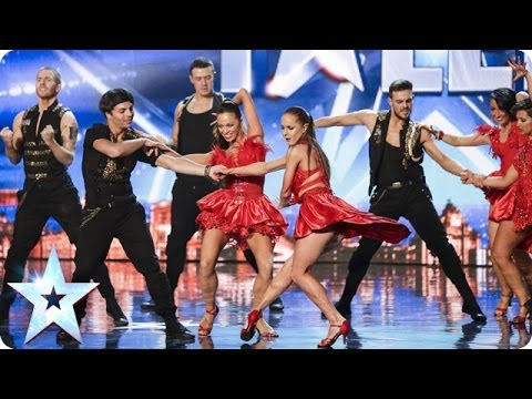 Видео: Latin dance troupe Kings and Queens bring passion to the stage  Britains Got Talent 2014