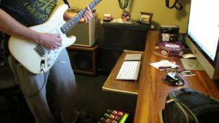 """Getting my Hendrix on with the Axe FX II and Fender """"Voodoo"""" strat"""