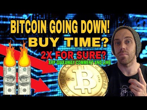 Is Bitcoin Going to Hit $7,000? - How Low will Bitcoin Drop? - Is There a 2X Opportunity Here?