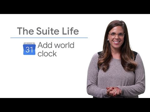 Add world clock - The Suite Life