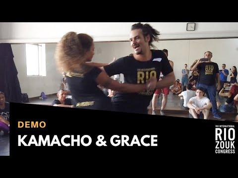 VIII RIO ZOUK CONGRESS - Demo - Kamacho & Grace