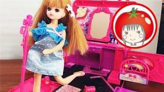 ❤️トマトおねえさん❤️ステージに変身アイドルメイクボックス 開封 リカちゃん おもちゃ