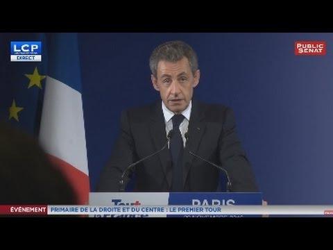 REPLAY - Nicolas Sarkozy apporte son soutien à François Fillon, son ancien Premier ministre