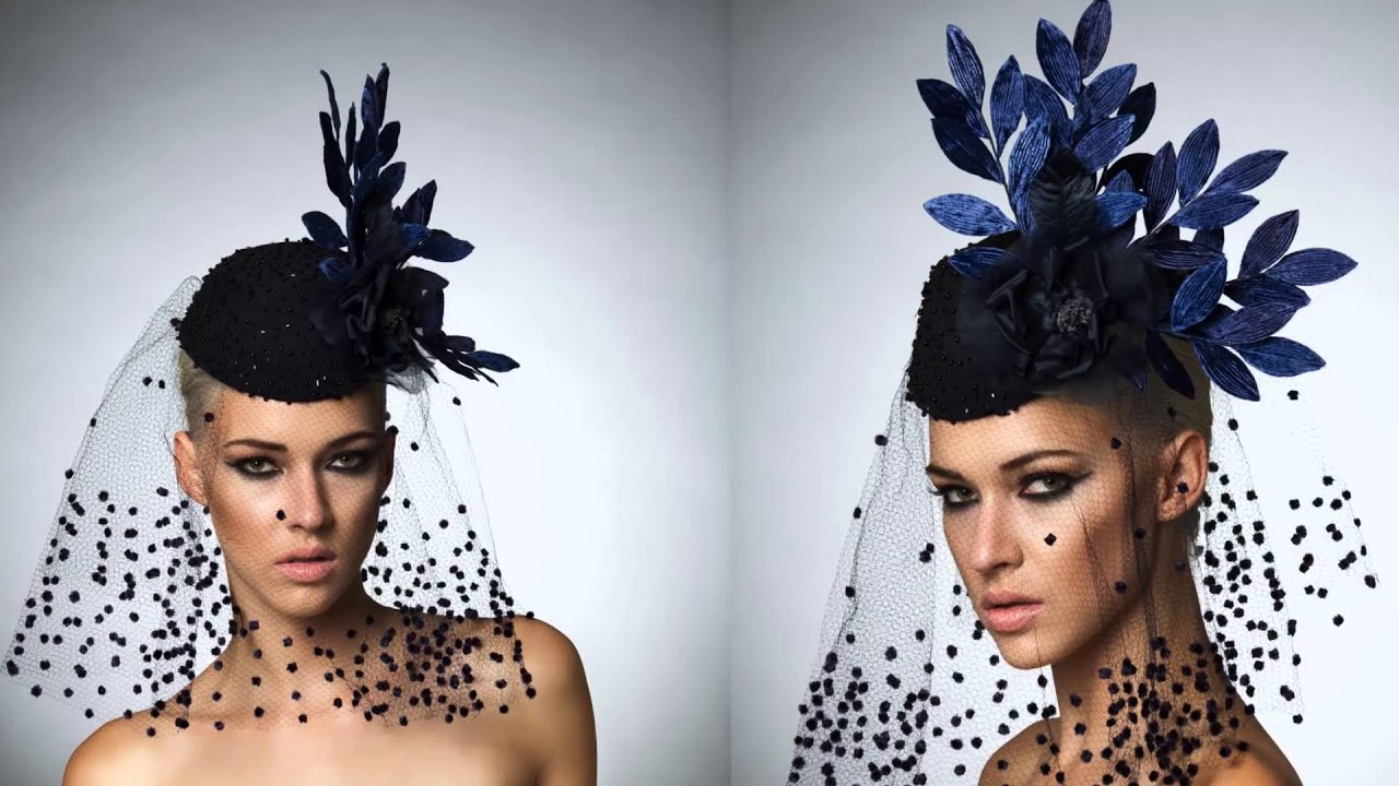 270d3616c74 Arturo Rios Couture Hat Collection - YouTube