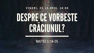 Sfanta Treime Braila - 25 Decembrie 2020 - Iosua Faur - Matei 1:18-25