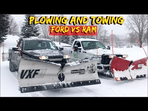 The Best Truck For Snow Plowing - Dodge Ram 2500 Vs Ford F-250