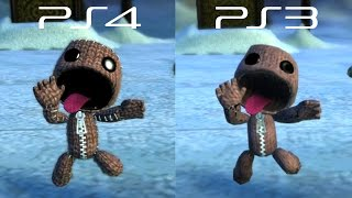 LittleBigPlanet 3 BETA - PS3 VS PS4 Graphics Comparison - LBP3 | EpicLBPTime