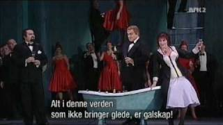 La Traviata: Brindisi (Drinking Song)  - The Norwegian Opera - Oslo