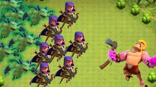 Crazy Hordes of Troops!!! | Clash Of Clans