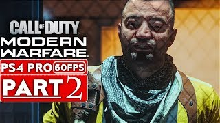 CALL OF DUTY MODERN WARFARE Gameplay Walkthrough Part 2 Campaign [1080p HD PS4] - No Commentary