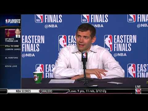 Coach Brad Stevens | Eastern Conference Finals Game 4 Press Conference