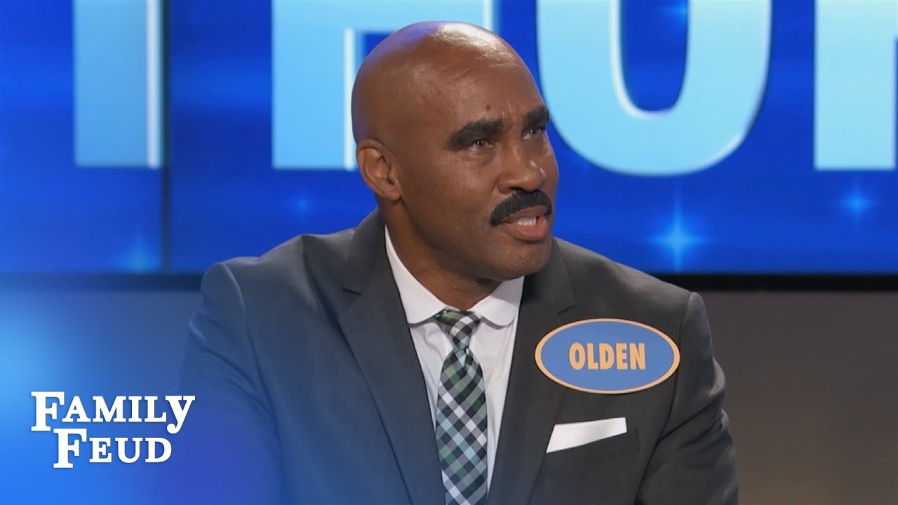Blue apron elvis duran - Steve Harvey Meeting His Doppelg Nger On Family Feud Is Everything Newscult