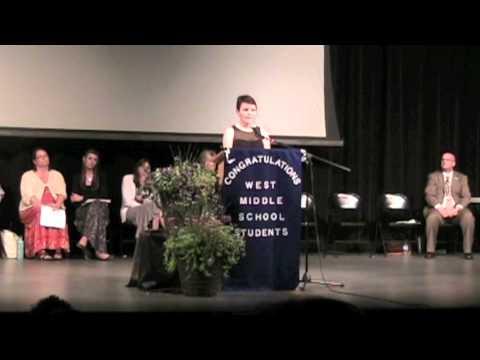 Portage West Middle School Graduation Address
