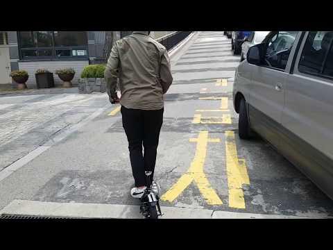 [e근두운] ES 04 듀얼 전동킥보드 등판력 테스트 #1 ES-04 Dual Uber Scoot