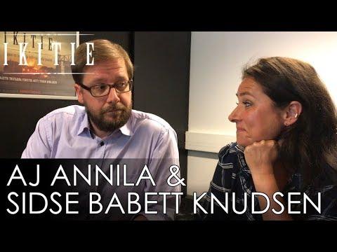 Haastattelussa AJ Annila & Sidse Babett Knudsen. IKITIE