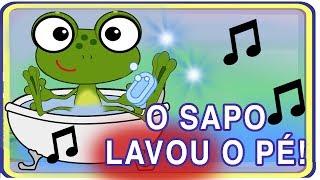 O SAPO LAVOU O PÉ - paródia da música O SAPO NÃO LAVA O PÉ