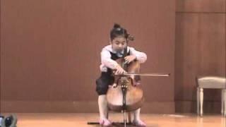 Cello child prodigy and super dooper grandaughter