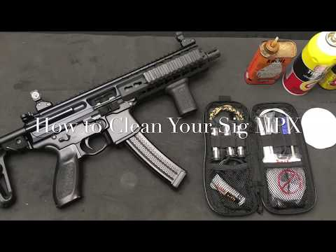 Gun Cleaning: How to Clean Your Sig MPX