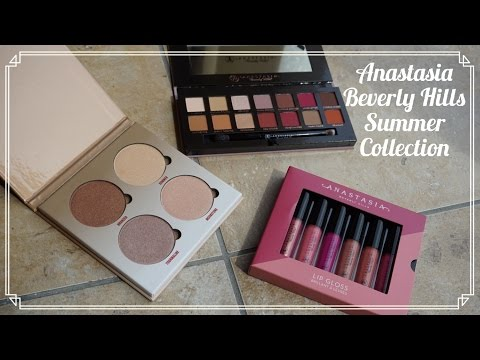 REVIEW: Anastasia Beverly Hills Modern Renaissance palette & Sun Dipped Glow Kit