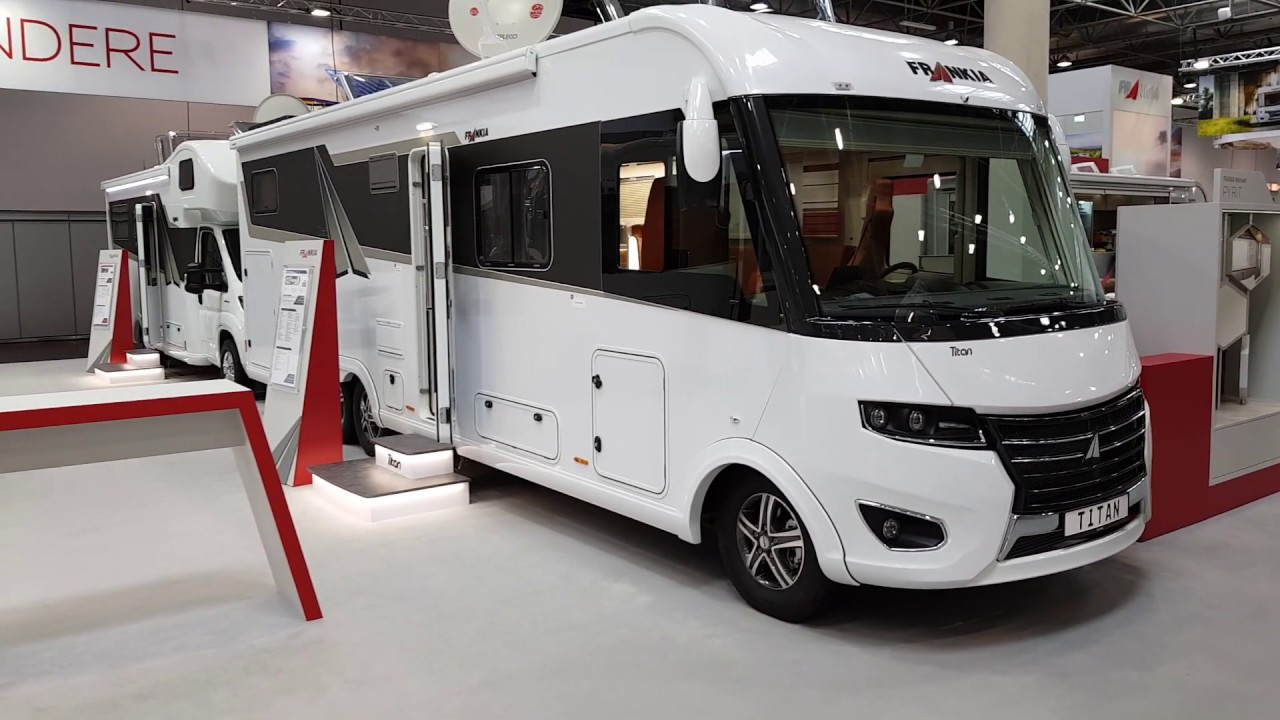 CamperTobi - FRANKIA I 10 GD-B TITAN - Caravan-Salon 10 in Düsseldorf